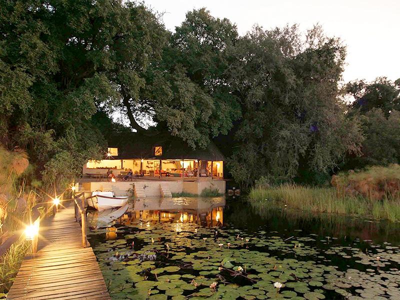 Nxamaseri Island Lodge Okavango Pan Handle