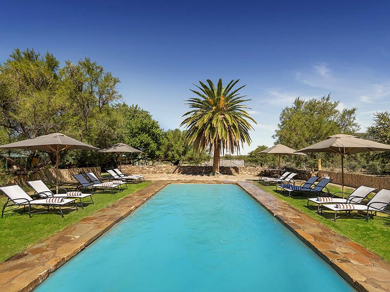 Karoo Lodge at Samara - Sibella Family Suite Eastern Cape